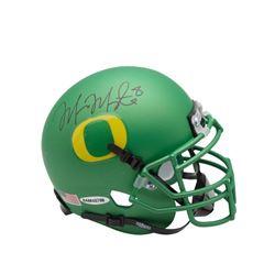 Marcus Mariota Signed Oregon Ducks Mini Helmet (UDA COA)