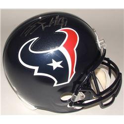 J.J. Watt Signed Texans Full-Size Helmet (Radtke COA)