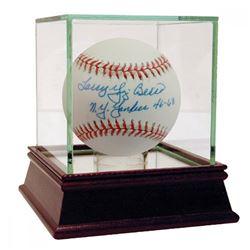 "Larry Yogi Berra Signed OAL Baseball Inscribed ""NY Yankees 46-63"" (JSA COA)"