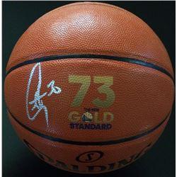 Stephen Curry Signed Gold Standard Basketball (Fanatics Hologram)
