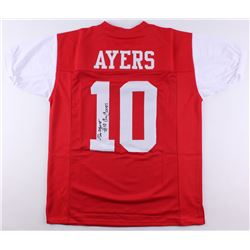 "Demarcus Ayers Signed Houston Cougars Jersey Inscribed ""Go Coogs"" (JSA COA)"