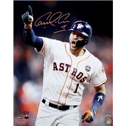 "Carlos Correa Signed Astros ""2017 World Series"" 16x20 Photo (TriStar Hologram)"