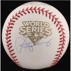 Alex Rodriguez Signed 2009 World Series Baseball (Steiner COA)