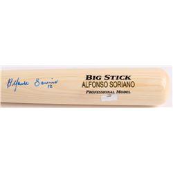 Alfonso Soriano Signed Rawlings Big Stick Adirondack Pro Custom Engraved Baseball Bat (Radtke Hologr