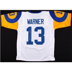 "Kurt Warner Signed Rams Jersey Inscribed ""HOF 17"" (Radtke COA)"