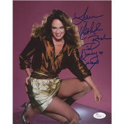 """Catherine Bach Signed """"The Dukes of Hazzard""""  8x10 Photo Inscribed """"Love""""  """"Daisy XOX"""" (JSA COA)"""