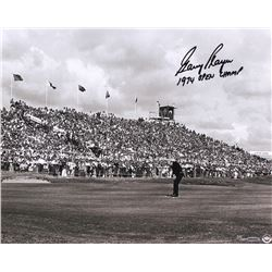 """Gary Player Signed LE """"Putting For The Win"""" 16x20 Photo Inscribed """"1974 Open Champ"""" (UDA COA)"""