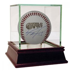 David Ortiz Signed 2007 World Series Baseball with High Quality Display Case (Fanatics Hologram)