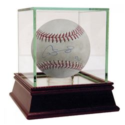 Gary Sanchez Signed Limited Edition Game-Used Baseball with High Quality Display Case (Steiner COA)