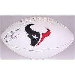 Braxton Miller Signed Texans Logo Football (Radtke COA)