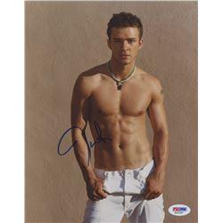 Justin Timberlake Signed 8x10 Photo (PSA COA)