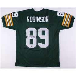 """Dave Robinson Signed Packers Jersey Inscribed """"HOF 2013"""" (Jersey Source COA)"""