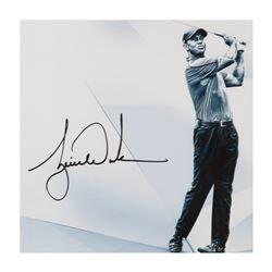 """Tiger Woods Signed """"Clarity"""" 16x20 Photo (UDA COA)"""