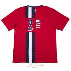 John Wall Signed Wizards Adidas Jersey (Panini COA)