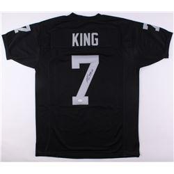 Marquette King Signed Raiders Jersey (JSA COA)