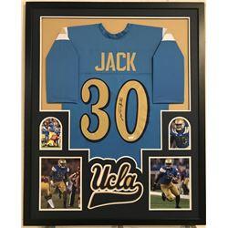 Myles Jack Signed UCLA Bruins 34x42 Custom Framed Jersey Display (JSA COA)