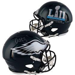 Alshon Jeffery Signed Eagles Super Bowl LII Full-Size Authentic On-Field Speed Helmet (Fanatics Holg