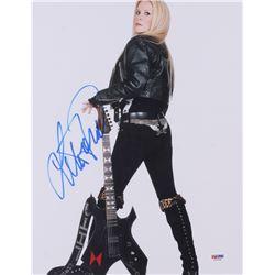 Lita Ford Signed 11x14 Photo (PSA COA)