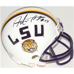 Morris Claiborne Signed LSU Mini-Helmet (Radtke COA)