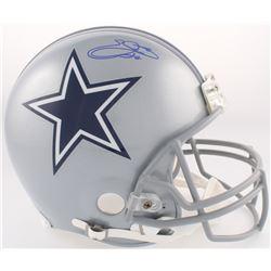 Emmitt Smith Signed Cowboys Full-Size Authentic On-Field Helmet (Beckett COA)