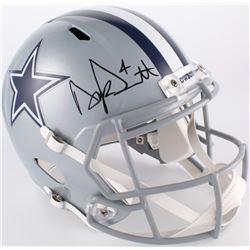 Dak Prescott Signed Dallas Cowboys Full-Size Speed Helmet (JSA COA)
