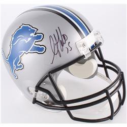 Golden Tate Signed Detroit Lions Full-Size Helmet (Beckett COA)