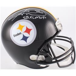 "Hines Ward Signed Steelers Full-Size Helmet Inscribed ""SB XL MVP"" (JSA COA)"