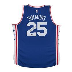 Ben Simmons Signed 76ers Jersey (UDA COA)