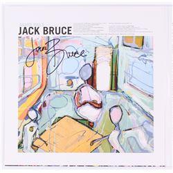 "Jack Bruce Signed ""Silver Rails"" Vinyl Record Album (JSA COA)"