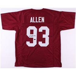 Jonathan Allen Signed Alabama Crimson Tide Jersey (Radtke COA)