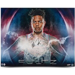 "Markelle Fultz Signed ""Ready Mad"" 76ers 16x20 Photo (UDA COA)"