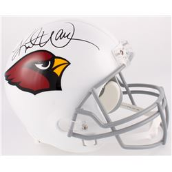 Kurt Warner Signed Cardinals Full-Size Helmet (Warner Hologram  Radtke COA)