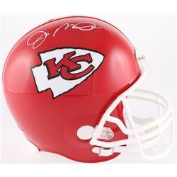 Joe Montana Signed Chiefs Full-Size Helmet (JSA COA)