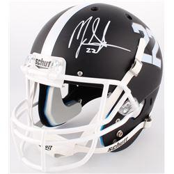 Mark Ingram Jr. Signed Alabama Crimson Tide Matte Black Full-Size Helmet (Radtke COA  Ingram Hologra