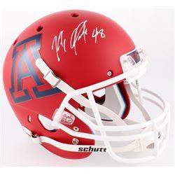 Rob Gronkowski Signed Arizona Wildcats Full-Size Matte Red Helmet (Radtke COA)