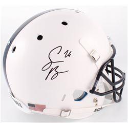 Saquon Barkley Signed Penn State Nittany Lions Full-Size Helmet (JSA COA)