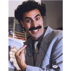 "Sacha Baron Cohen Signed ""Borat"" 11x14 Photo (PSA COA)"