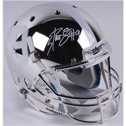 Bo Scarbrough Signed Alabama Crimson Tide Full-Size Custom Chrome Helmet (Radtke COA)