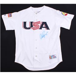 Alex Rodriguez Signed USA 2006 World Baseball Classic Jersey (Beckett COA)