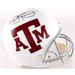 Johnny Manziel Signed Texas AM Aggies Full-Size Helmet (JSA COA)
