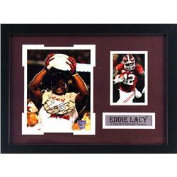 Eddie Lacy Signed Alabama Crimson 16x21 Custom Framed Photo Display (Radtke COA)