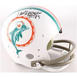 "Paul Warfield Signed Dolphins Throwback TK Suspension Full Size Helmet Inscribed ""HOF '83"" (Radtke C"