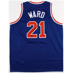 "Charlie Ward Signed Knicks Jersey Inscribed ""Only NBA Heisman"" (Radtke COA)"