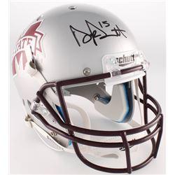 Dak Prescott Signed Mississippi State Bulldogs Full-Size Helmet (Radtke COA  Prescott Hologram)