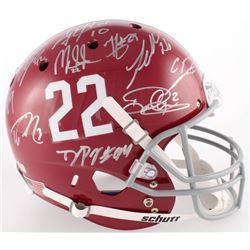 Alabama Crimson Tide Modern Greats Full-Size Helmet Signed by (21) with  (Radtke COA, GTSM, Ingram