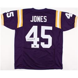 Deion Jones Signed LSU Tigers Jersey (Radtke COA)