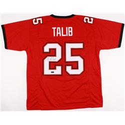 Aqib Talib Signed Buccaneers Jersey (Radtke COA)