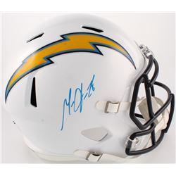 Melvin Gordon Signed Chargers Full-Size Speed Helmet (Radtke COA)