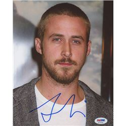 Ryan Gosling Signed 8x10 Photo (PSA COA)
