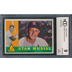 1960 Topps #250 Stan Musial (BCCG 9)